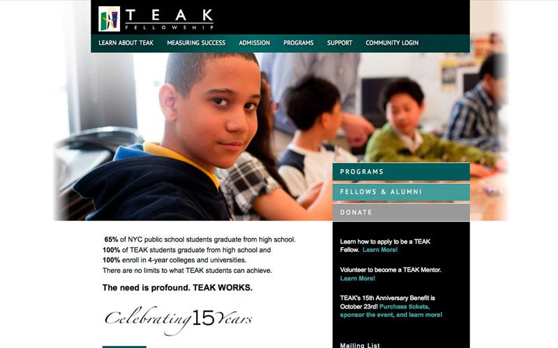 TEAK Fellowship Customize Survey